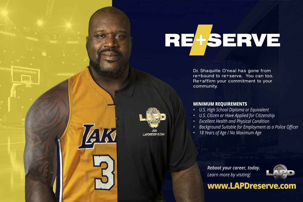 Shaquille O'neal Reserve poster
